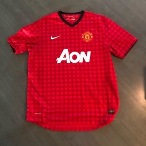 Men's authentic Manchester United Soccer Jersey XL